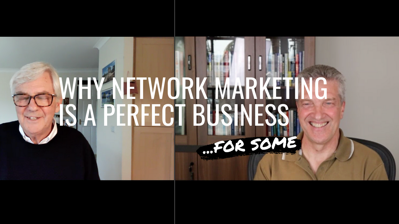 Network marketing is a perfect business but only for some people