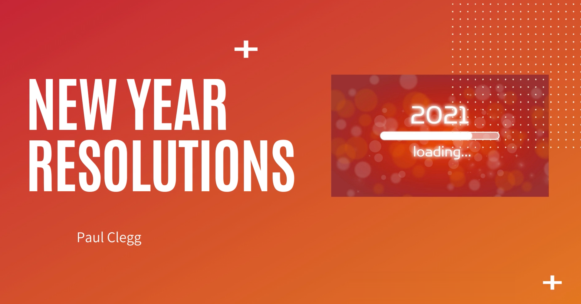 Four New Year Resolutions for Your Business.